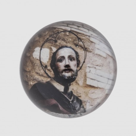 HEMIMORPHOSE 8 CM RELIGION SAINT FRANCOIS
