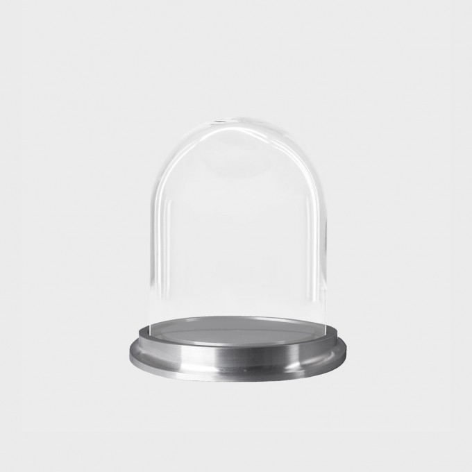 DOME 2 + BASE ALUMINIUM